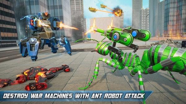 蚂蚁改造机器人游戏