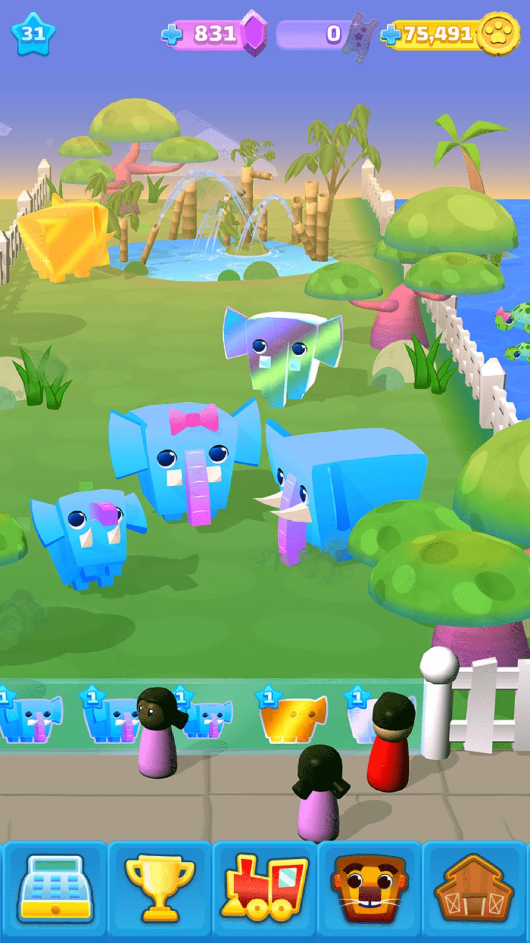 玩转动物园游戏