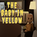 黄色暗示的婴儿