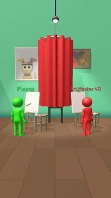 绘画比赛3D游戏