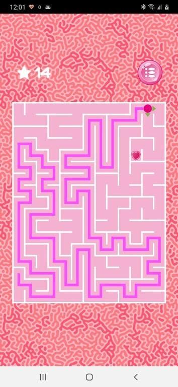 粉红色迷宫