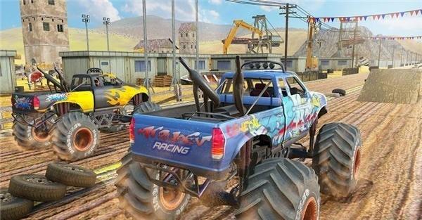 沙漠怪兽卡车赛车特技(图3)