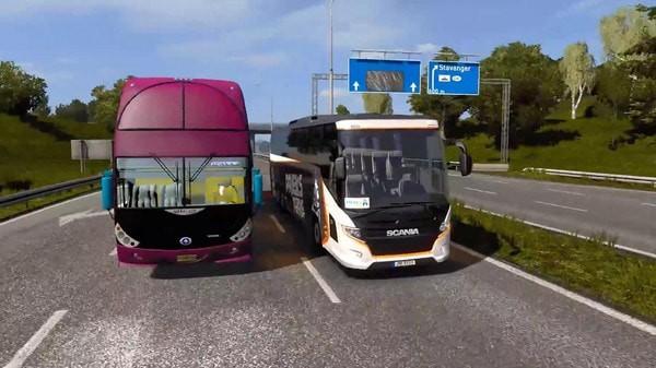 巴士驾驶移动模拟器